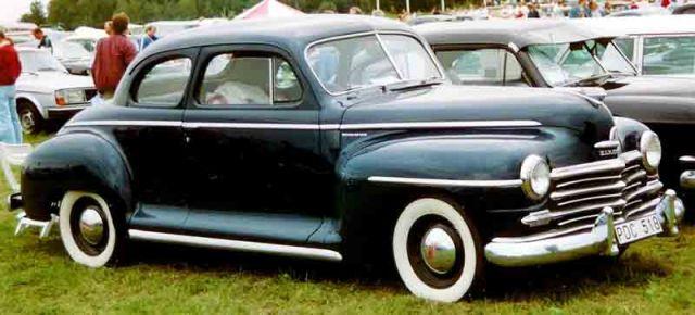 1948 Plymouth Special De Luxe Coupé
