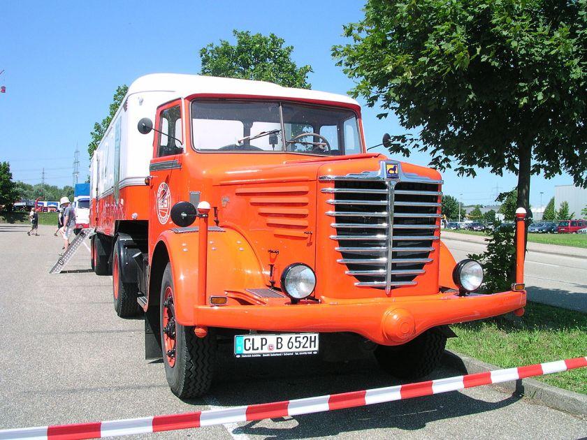 1949 Büssing Oranje Wit