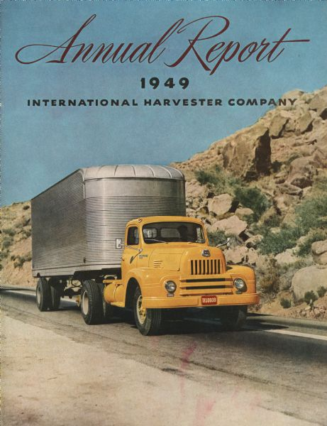 1949 International Harvester Company's annual report