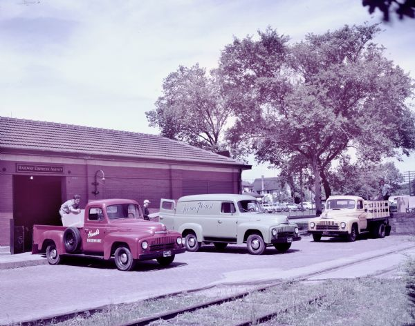 1949 International L-120, L-110, and L-130 Trucks