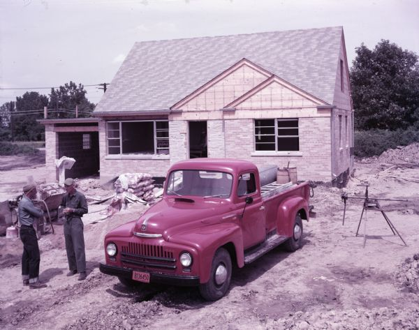 1949 International L-120 Truck with Pickup Body