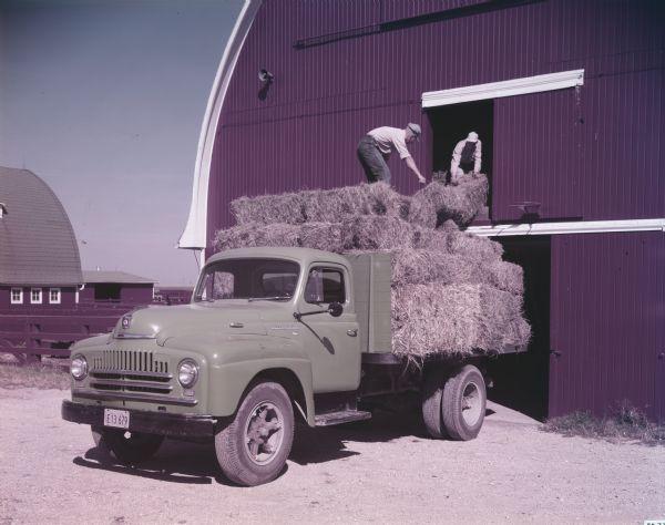 1949 International L-160 Truck with Platform Body