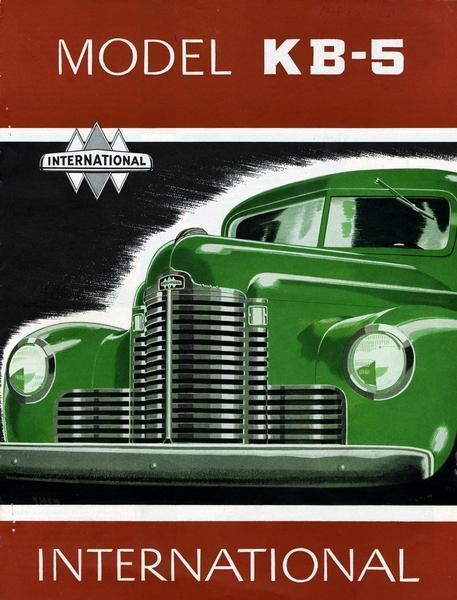 1949 International Model KB-5 Trucks