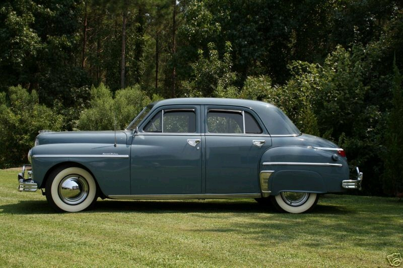 1949 Plymouth four-door sedan