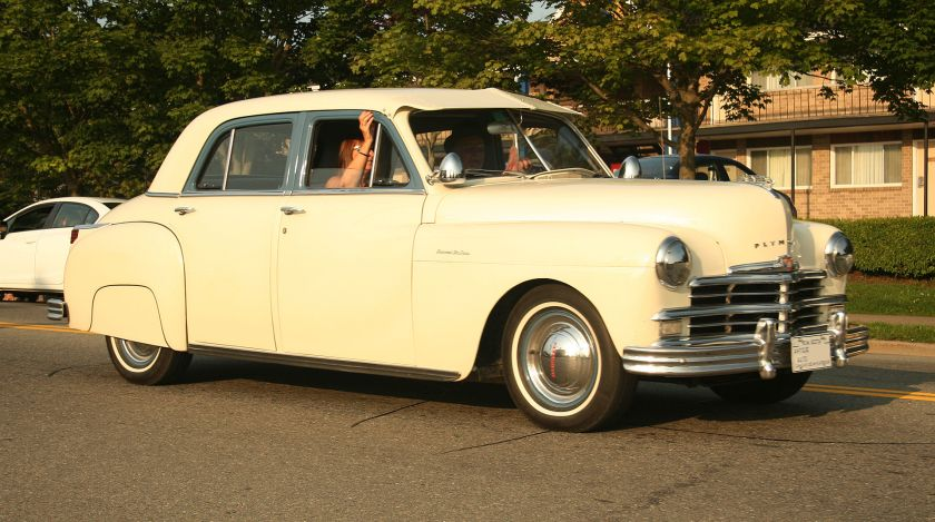 1949 Plymouth Special Deluxe Four Door Sedan