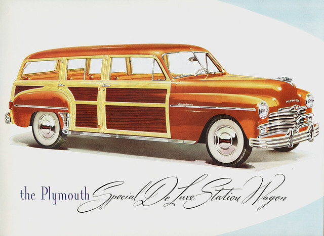 1949 Plymouth Special DeLuxe Station Wagon, advertisement