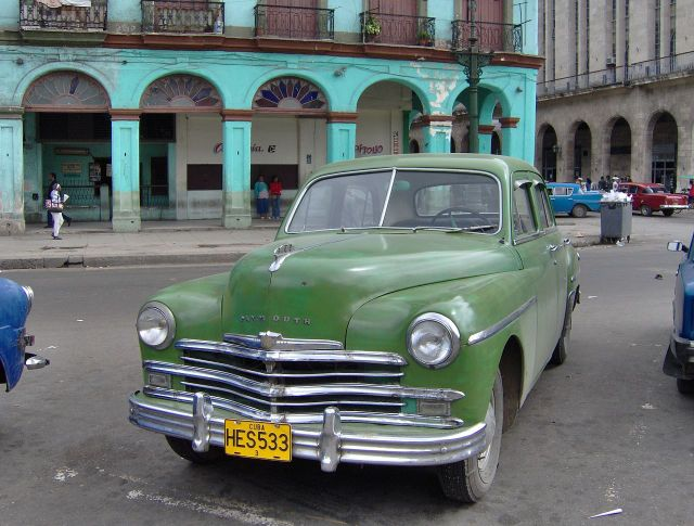 1949 Plymouth voiture a Cuba