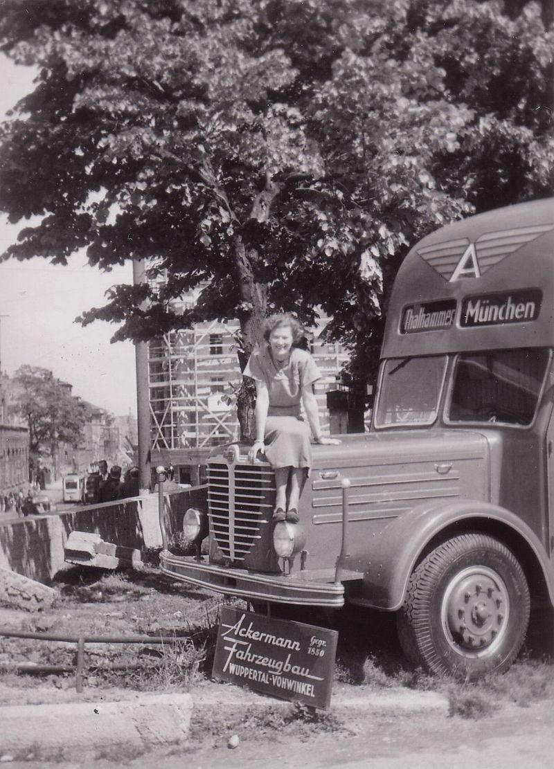1950 Büssing Ackermann Fahrzeugbau
