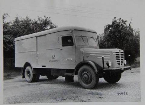 1950 Büssing NAG Typ 5000 S Diesel Deutsche-Bundespost