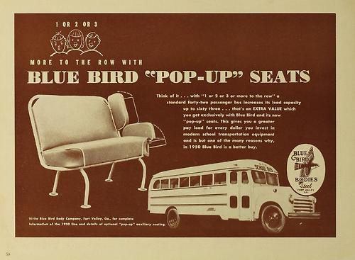 1950 Blue Bird