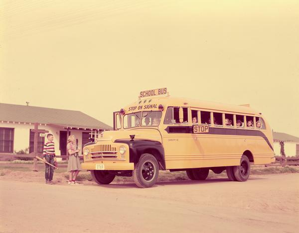 1950 international harvester bus a