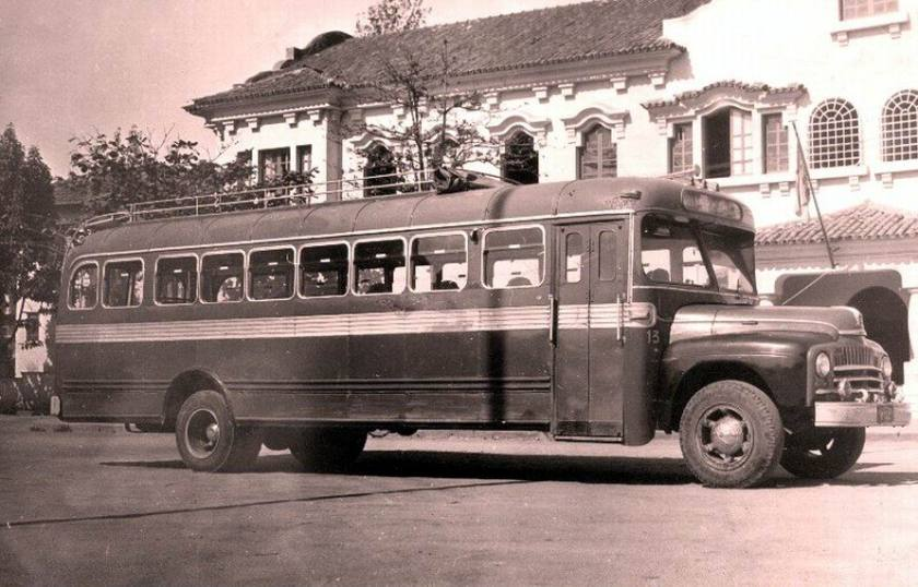 1950 International Harvester Bus