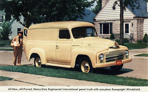 1950 International L-110 Panel Truck