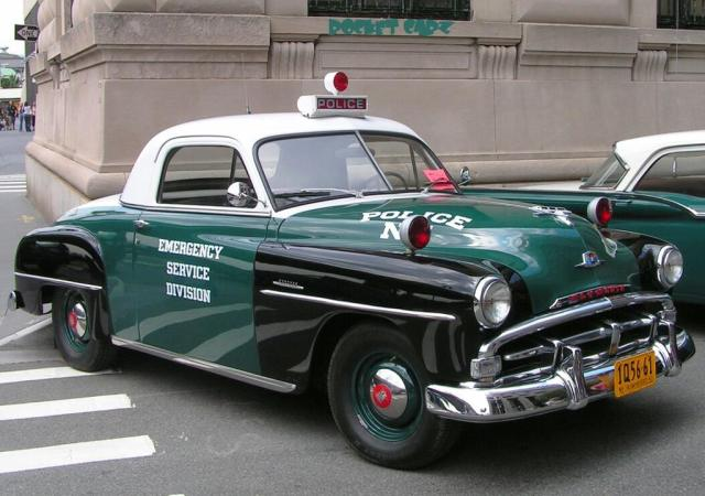 1950 Plymouth Concord NYPD