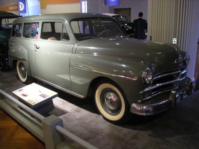 1950 Plymouth De Luxe Suburban