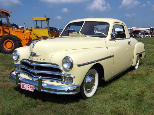 1950 Plymouth Deluxe coupe OCJ-679