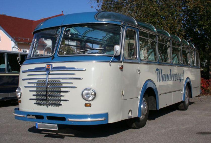 1950's Büssing 4000 T Omnibus der 50er Jahre