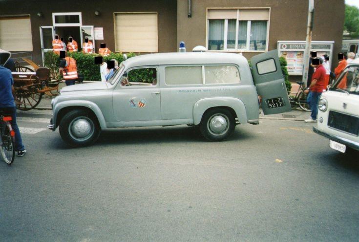 1950's Lancia Appia Ambulance 50's