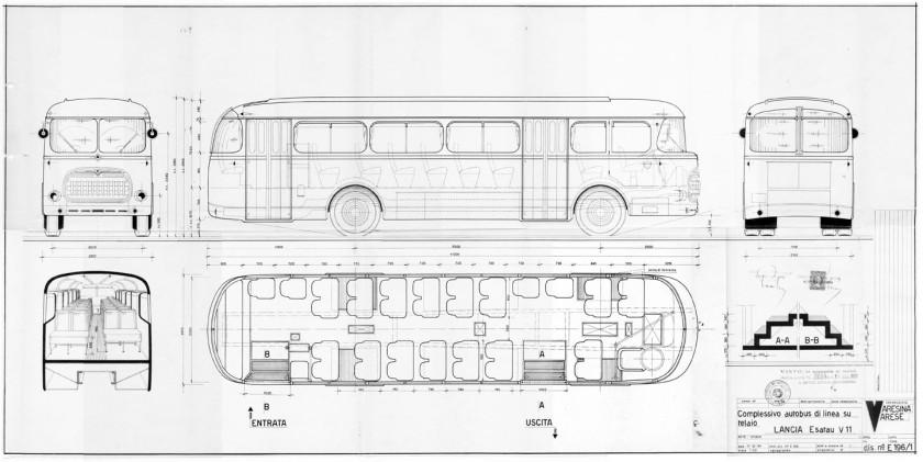 1951-52 Lancia Esatau V11 complessivo