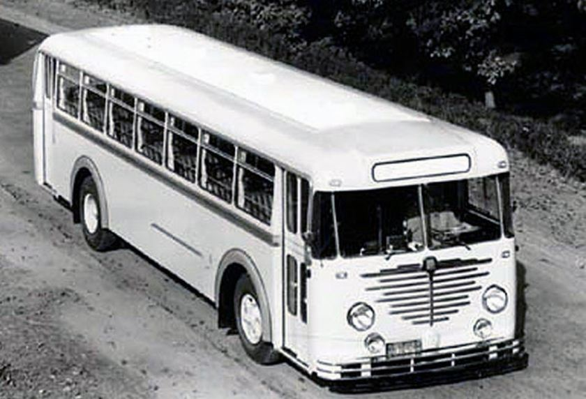 1951 Büssing 5000 tu België