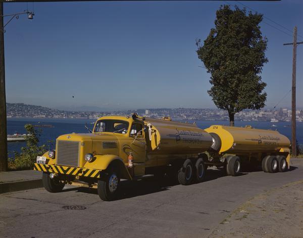 1951 International LD-400 Series Truck and Trailer
