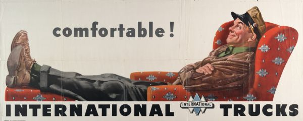 1951 International Truck Advertising Poster