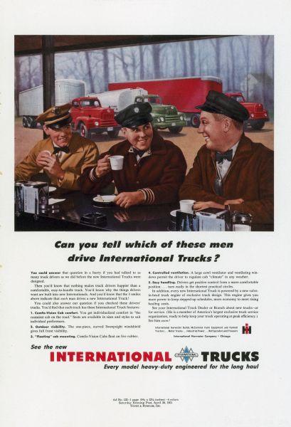 1951 International Truck Advertising Proof