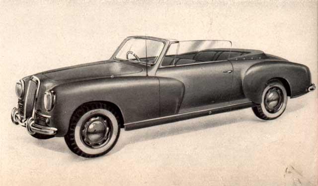 1951 lancia aurelia cabrio