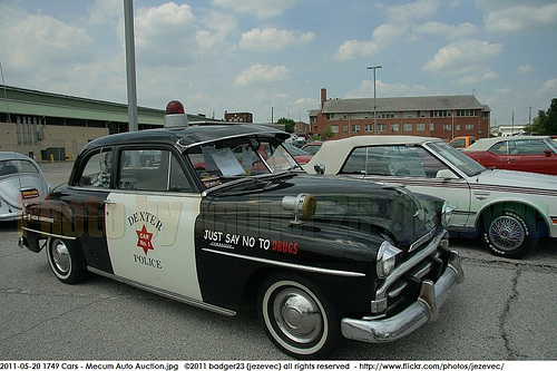 1951 Plymouth cambridge policecar