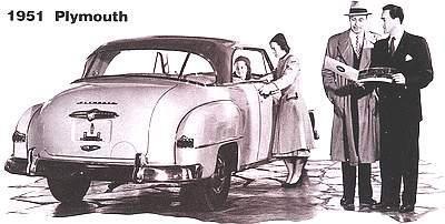 1951 Plymouth Cambridge Sedan plus. Concord Business Coupe and Suburban