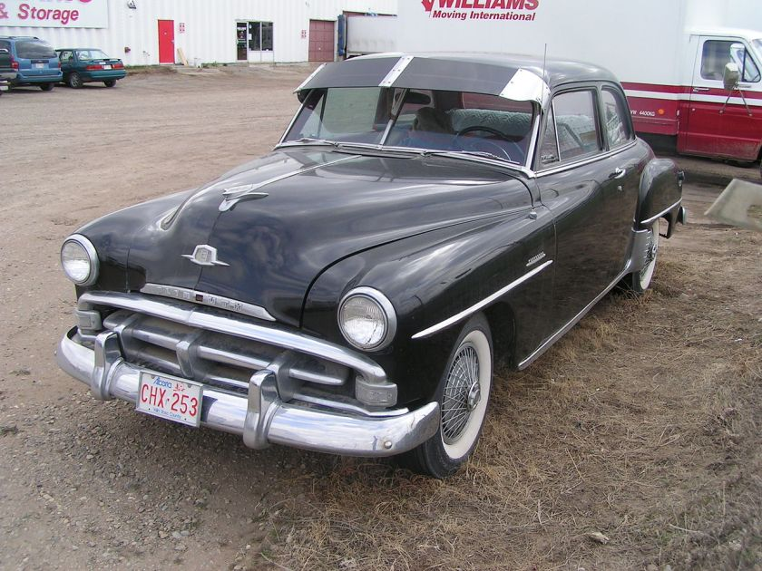 1951 Plymouth Cranbrook at a local storage yard