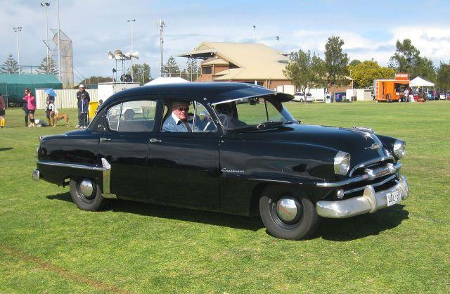 1951 Plymouth P25 Cranbrook as built by Chrysler Australia