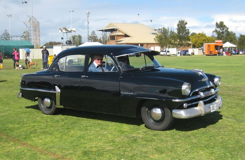 1951 Plymouth P25 Cranbrook as built by Chrysler Australia