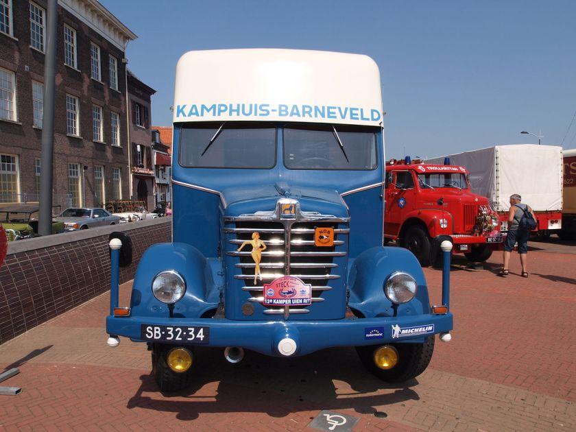 1952 Büssing 5500 Kamphuis Barneveld SB-32-34