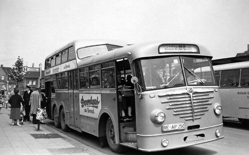 1952 Büssing anderthalb