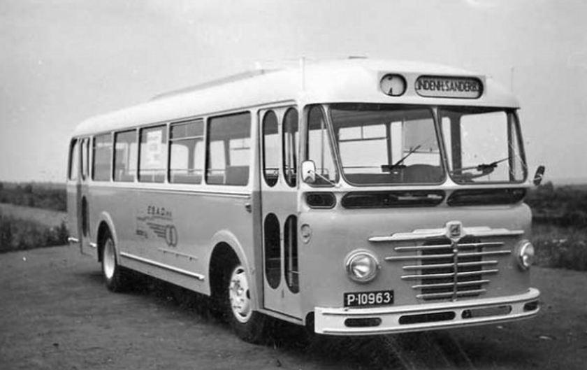 1952 Büssing bus voor de EBAD