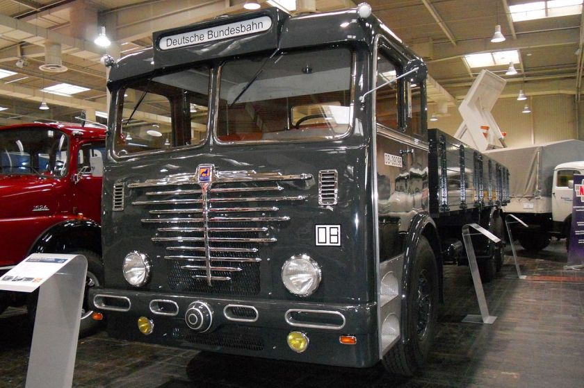 1952 Büssing truck 12000