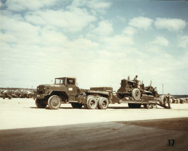 1952 International harvester Company Military Construction Equipment Transport