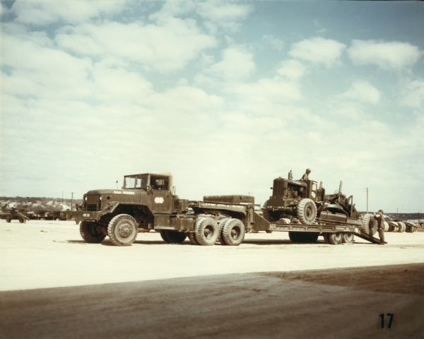 1952 International harvester Company Military Construction Equipment Transport