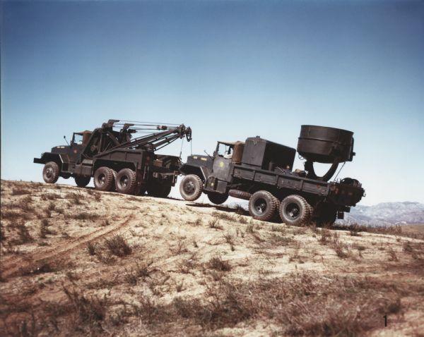 1952 International M-40 Marine Corps Vehicle with Wrecker Body