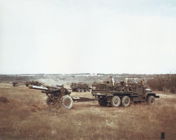 1952 International M-41 and M-54 Cargo Vehicles