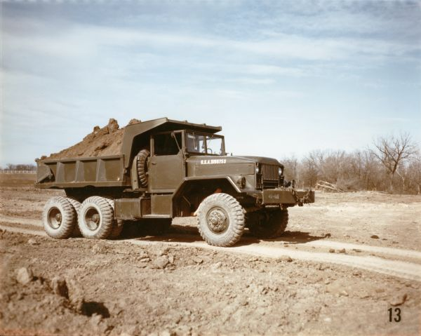 1952 International M-51 Dump Truck at Fort Hood