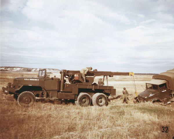 1952 International M-62 Wrecker Moving Truck