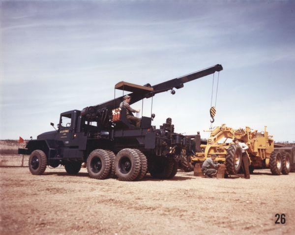 1952 International M-62 Wrecker