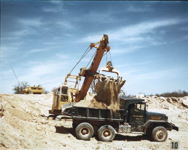 1952 International Model M-51 Dump Truck