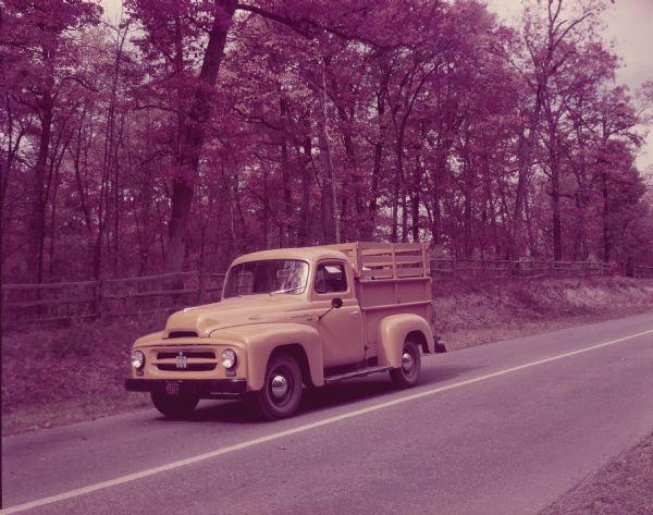 1952 International R-110 Truck with Pickup Body