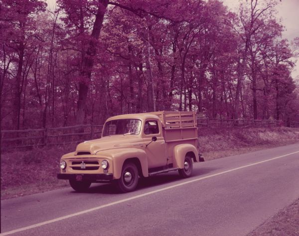 1952 International R-110 Truck with Pickup Body