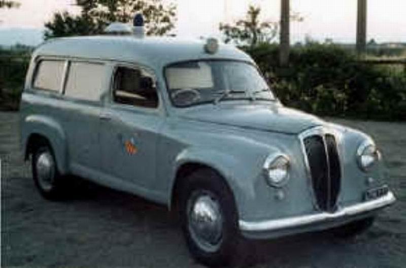1952 Lancia Appia Carrozzeria Fissore