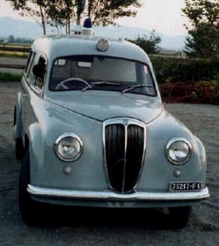 1952 Lancia Appia Fissore fr