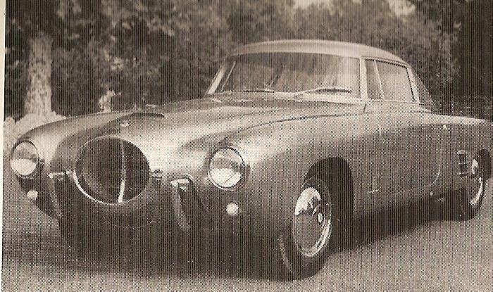 1952 lancia aurelia B52 PF 200 coupe by pininfarina